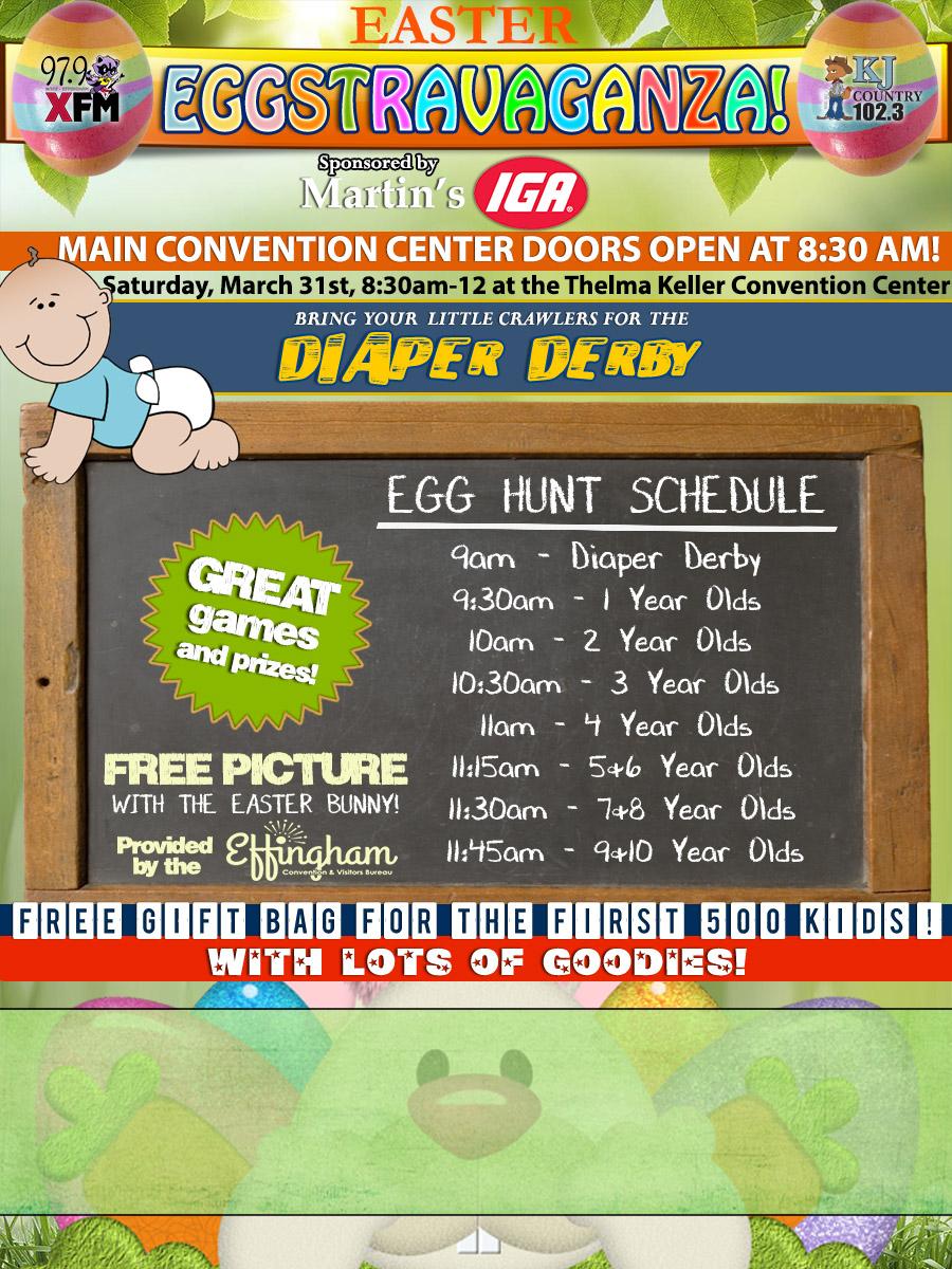 Easter eggstravaganza events calendar effingham convention eastereggstra negle Images